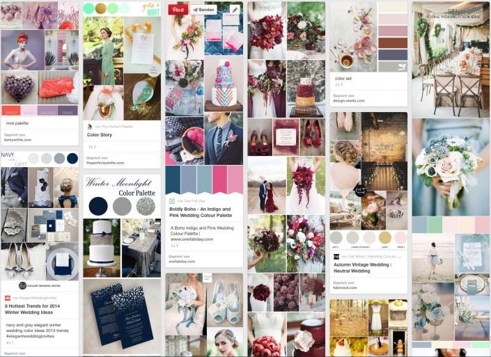 Pinterest Pinwand