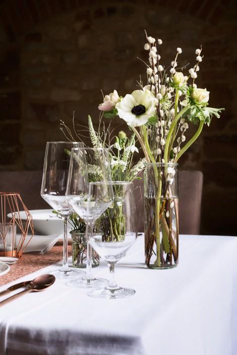Blumen Hohzeit Tischdeko Indegoblumen Pompomyourlife