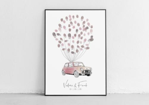 Mini weddingtree gästebuch