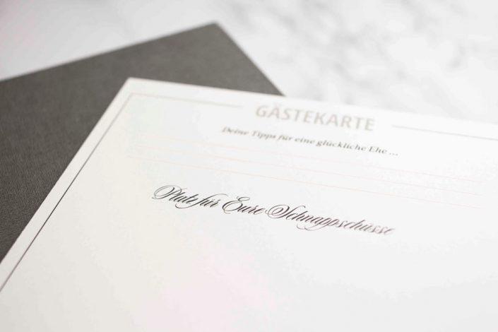 Gästebuch Gäastebox