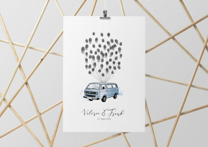 Bulli T3 VW Hochzeitsauto