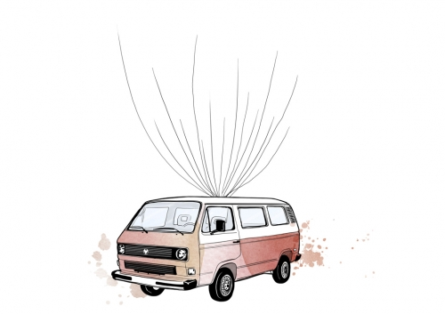 Bulli T3 VW Gästebuch