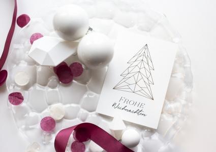 grußkarte zu weihnachten hannover