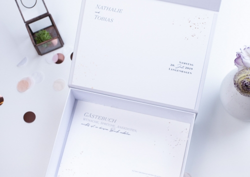 Gstebuch box individuell