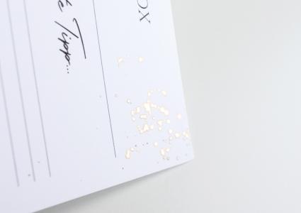 rosegold veredelung gästebuch