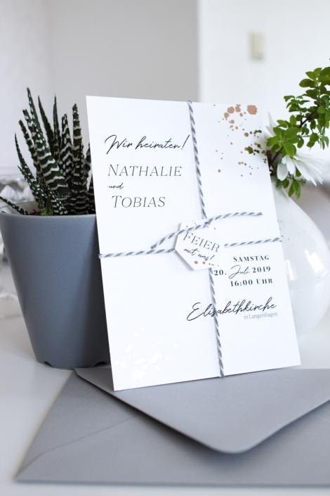 einladung zur Hochzeit v