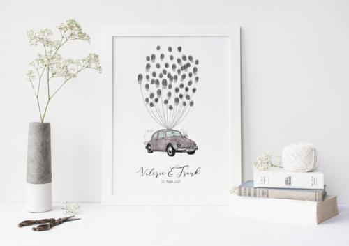 Käfer VW weddingtree