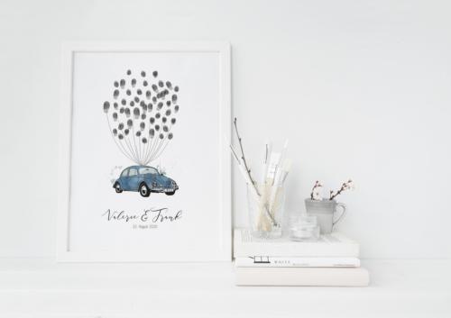 Käfer weddingtree fingerabdruck