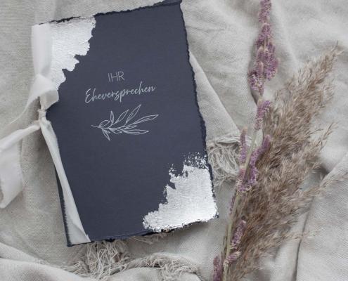 Vow book Silber