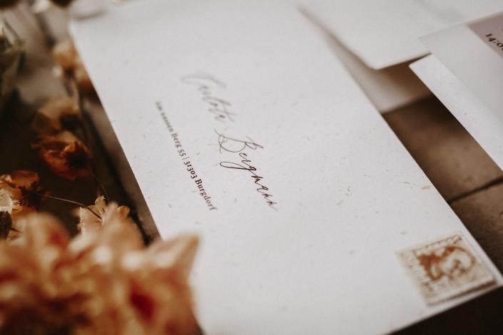 Moho Wedding envelope