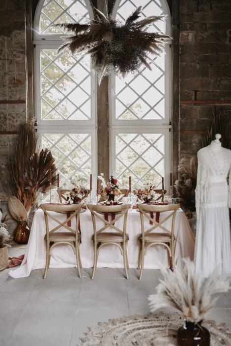 Moho Wedding Tabele Decoration