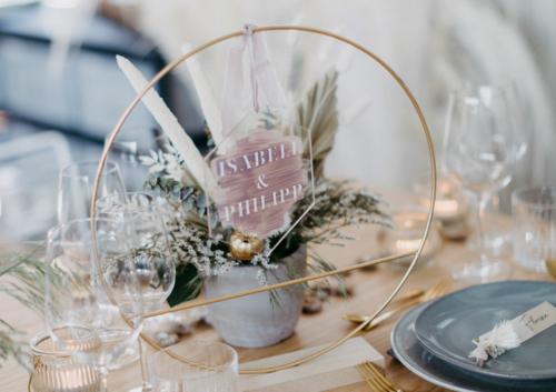 Acryl Anhänger Hochzeit