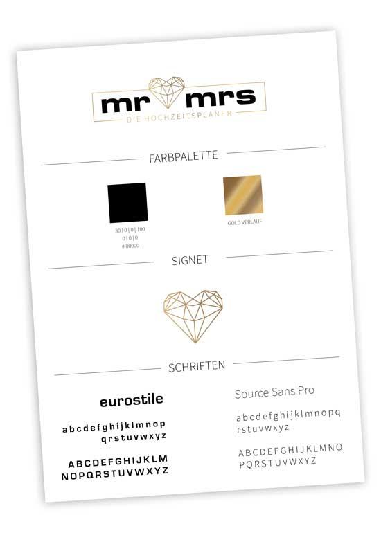 Logo Design die Hochzeitsplaner Hannovver Corporatedesign