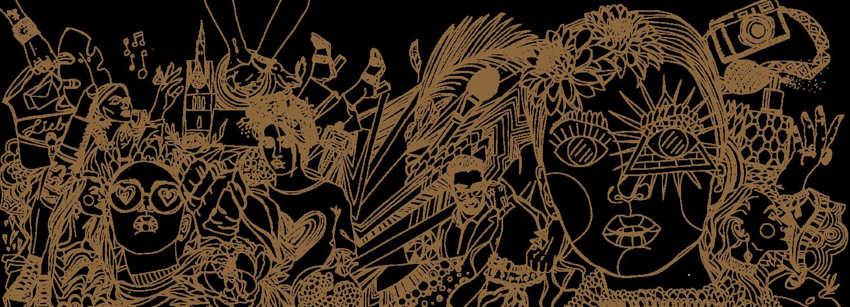 Wandillustration