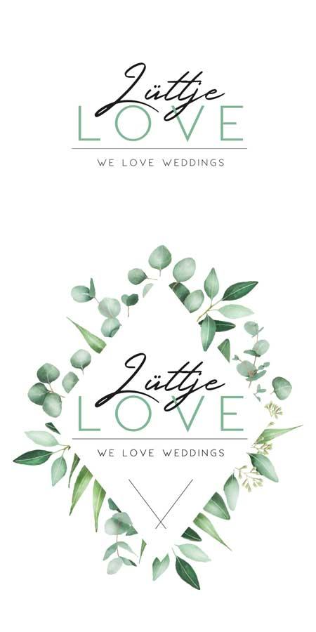 Corporate Design Logo Design Lüttje LOVE Hannover