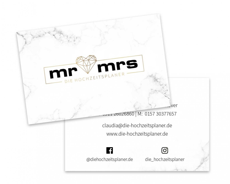 Gestaltung Visitenkarten