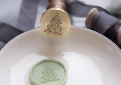 Siegelstempel | Weihnachtsbaum | 25mm Ø